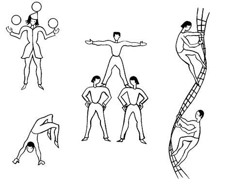 Acrobate (métiers Et Professions)