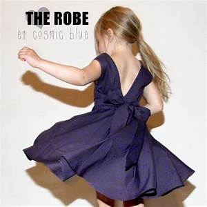 the dress in cosmic blue sewing projects burdastylecom With robe chasuble fille