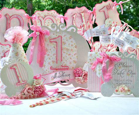 shabby chic birthday decorations princess birthday party shabby chic decorations package