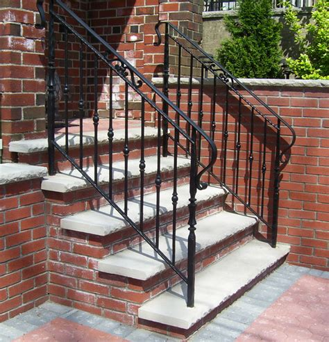 wrought iron railings outdoor wrought iron outdoor stair railings how to select the best outdoor stair railing garden design