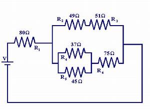 How Can The Equivalent Resistance Of The Following Circuit Be Calculated