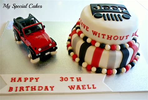 jeep cupcake cake my special cakes june 2012