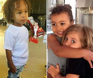 Tygas Son King Cairos Fun Play Dates With North West