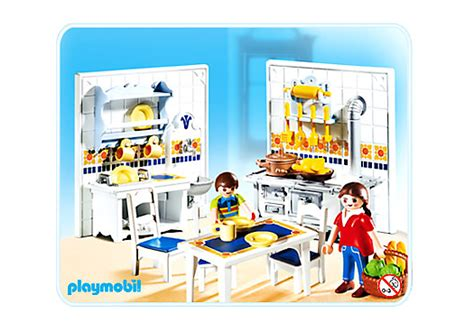 famille cuisine famille cuisine traditionnelle 5317 a playmobil