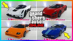 GTA ONLINE GUNRUNNING DLC ALL UNRELEASED VEHICLES NEW SUPER CARS, PRICES, RELEASE & MORE! GTA