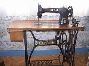 Ancienne Machine A Coudre : vends ancienne machine a coudre singer ~ Melissatoandfro.com Idées de Décoration