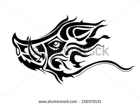 boar tattoos images tattoos tribal tattoos