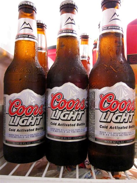 what is the content of coors light the most popular beers in the world up