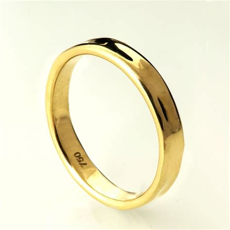 simple gold wedding band 14k gold ring unisex ring wedding ring wedding band s