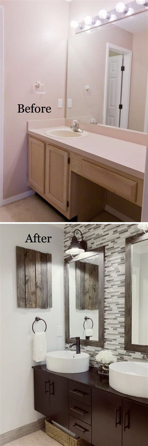 Before And After Small Bathrooms by 37 Small Bathroom Makeovers Before And After Pics Bath