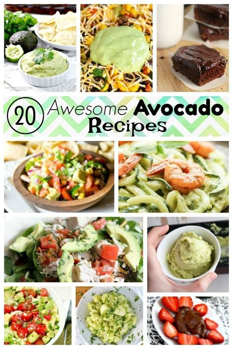 20 top rated easy recipes featuring avocado as a main