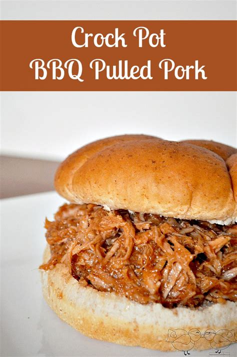 how to make crock pot pulled pork barbecue recipe ask home design