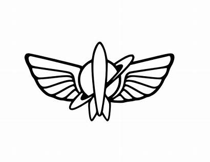 Buzz Lightyear Symbol Toy Story Decal Wings