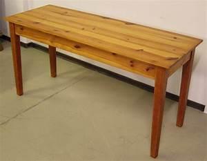 Schmale Tische : zierliche schmale weichholz tafel esstisch gefertigt um ~ Pilothousefishingboats.com Haus und Dekorationen