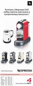 Machine Nespresso Promo : nespresso citiz coffee machine best denki panasonic ~ Dode.kayakingforconservation.com Idées de Décoration