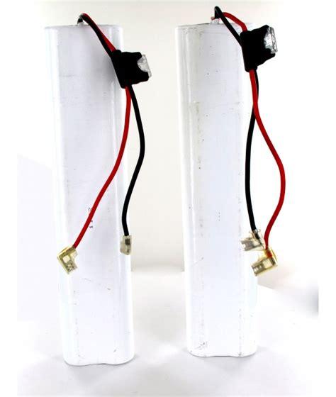 2 batteries 12v 5ah for stair acorn 180 bison 80