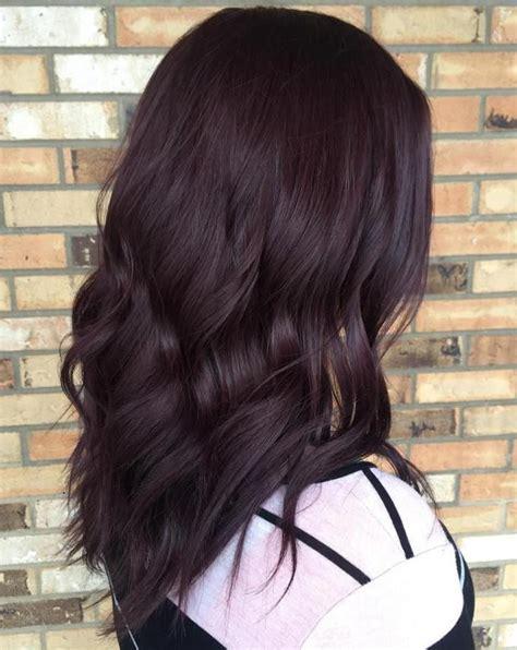 dark burgundy hair ideas  pinterest