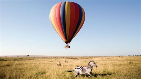 air balloon l discover tarangire national park tanzania andbeyond