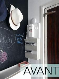 Comment Cacher Un Compteur électrique Dans Une Entrée : comment cacher un compteur lectrique studio cyanotype ~ Melissatoandfro.com Idées de Décoration