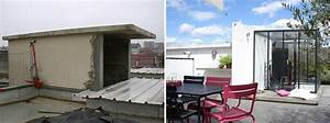 Amenagement Terrasse De Toit : avant apr s am nagement d 39 une terrasse sur le toit d ~ Premium-room.com Idées de Décoration