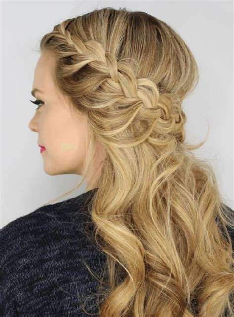 curly prom hairstyles    heads turn