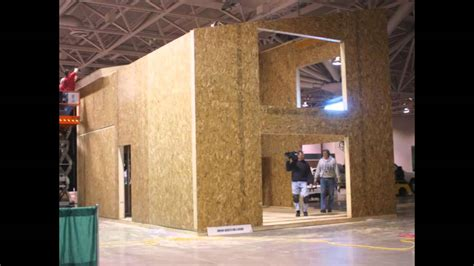 building  structural insulated panels  epswmv youtube