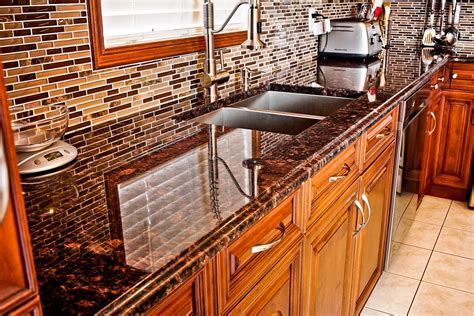 kitchen islands with granite brown granite countertops pictures cost pros and cons