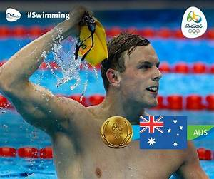 Swimming, Men's 100m Freestyle - Kyle Chalmers, Australia ...