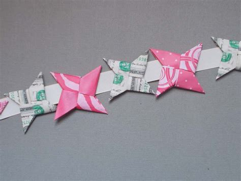 dollar bill origami ninja star