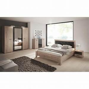 Chambre Complete Adulte : chambre coucher compl te pour adulte bari ~ Carolinahurricanesstore.com Idées de Décoration