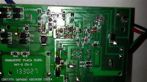 luz de emergencia led no carga la bateria electr 243 nica y