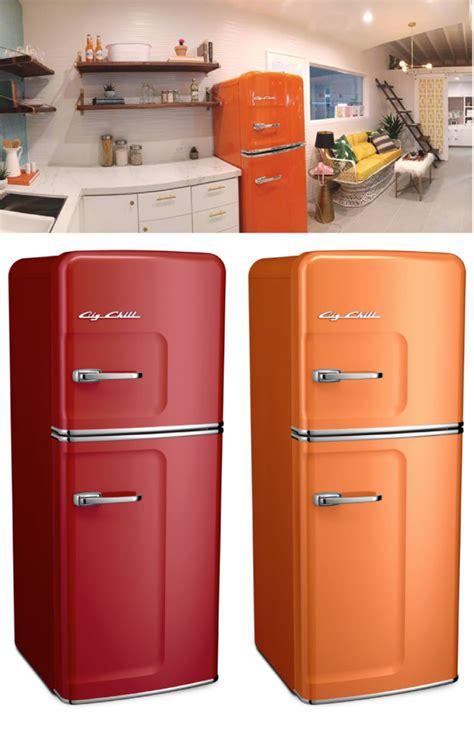 Featuring The Big Chill Slim Refrigerator  Great Retro