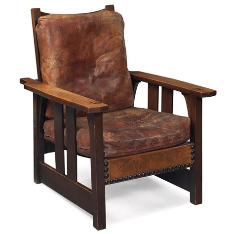stickley morris chair cushions gustav stickley morris chair 2341 flat arm form with