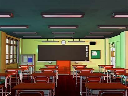 Classroom Anime Background Animation Backgrounds Deviantart Backdrop