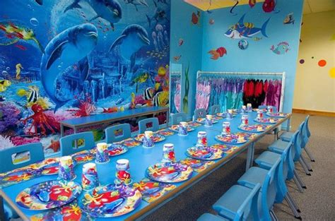 Under The Sea Party Room At Kids'n'action  Picture Of