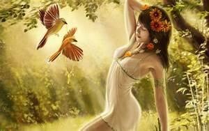 Digital, Fantasy, Girl, Art, Wallpapers