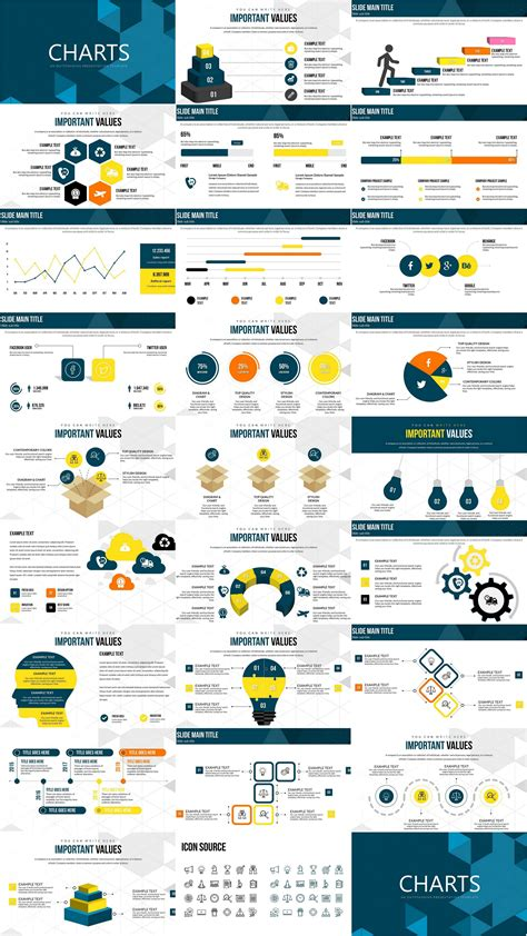 creative ideas powerpoint charts infographic powerpoint