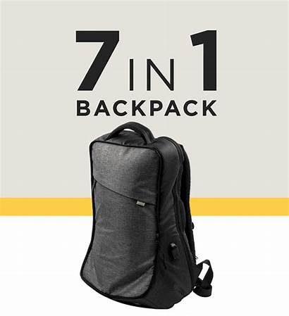 Backpack Bag Smart Prototype Kickstarter Travel Everyday