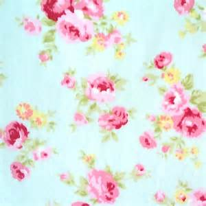 Shabby Chic Rose Floral Fabric