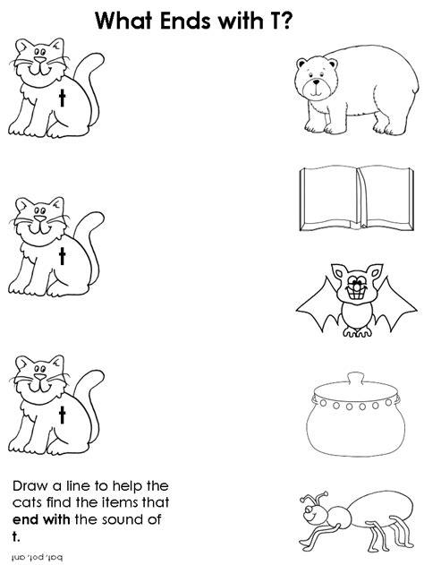 consonants worksheets