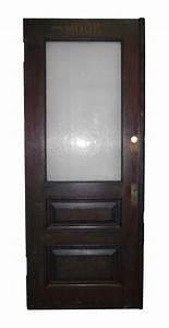 Half, Glass, Office, Door