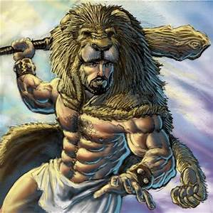 Greek Mythology: The great Hercules during his trials ...