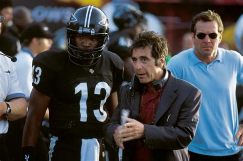 dennis quaid quarterback any given sunday 1999 al pacino dennis quaid