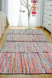 Teppich Selber Weben : diy flickenteppich l ufer diy flickenteppich gewobener teppich und dekoration wohnzimmer ~ Orissabook.com Haus und Dekorationen