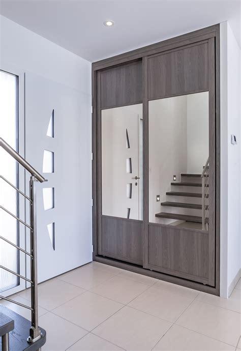 porte de placard de cuisine sur mesure placard porte coulissante pas cher