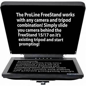 Teleprompters User Manual