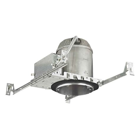 ic rated can lights 5 quot new construction led recessed can light ic and