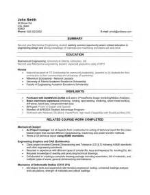 Engineering Student Resume Template