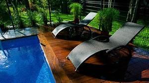amenagement d39une piscine creusee contemporaine plani With amenagement paysager avec piscine creusee 0 amenagement dune piscine creusee contemporaine plani