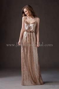 jasmine bridal bridesmaid dress belsoie style l184065 in With light gold wedding dress